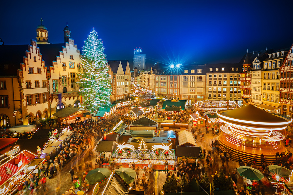 Christmas cruises: Frankfurt Christmas market