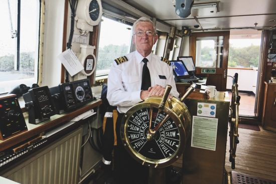 Hebridean Princess captain