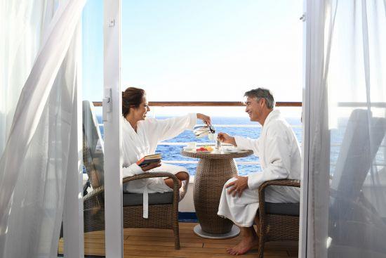 Oceania Cruises Penthouse suite