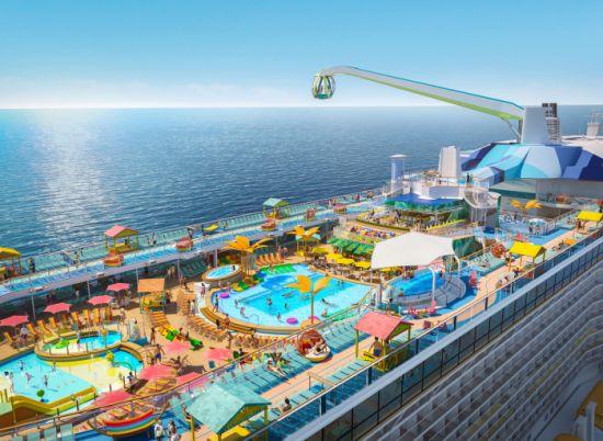 Royal Caribbean Odyssey Pool Deck