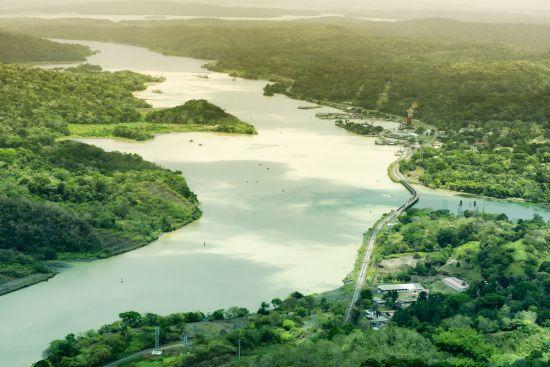 Panama Canal South America