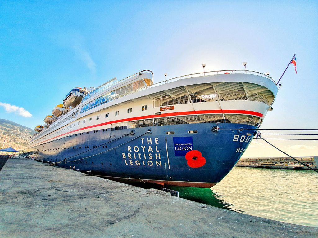Boudicca Fred Olsen: Grand voyage cruise