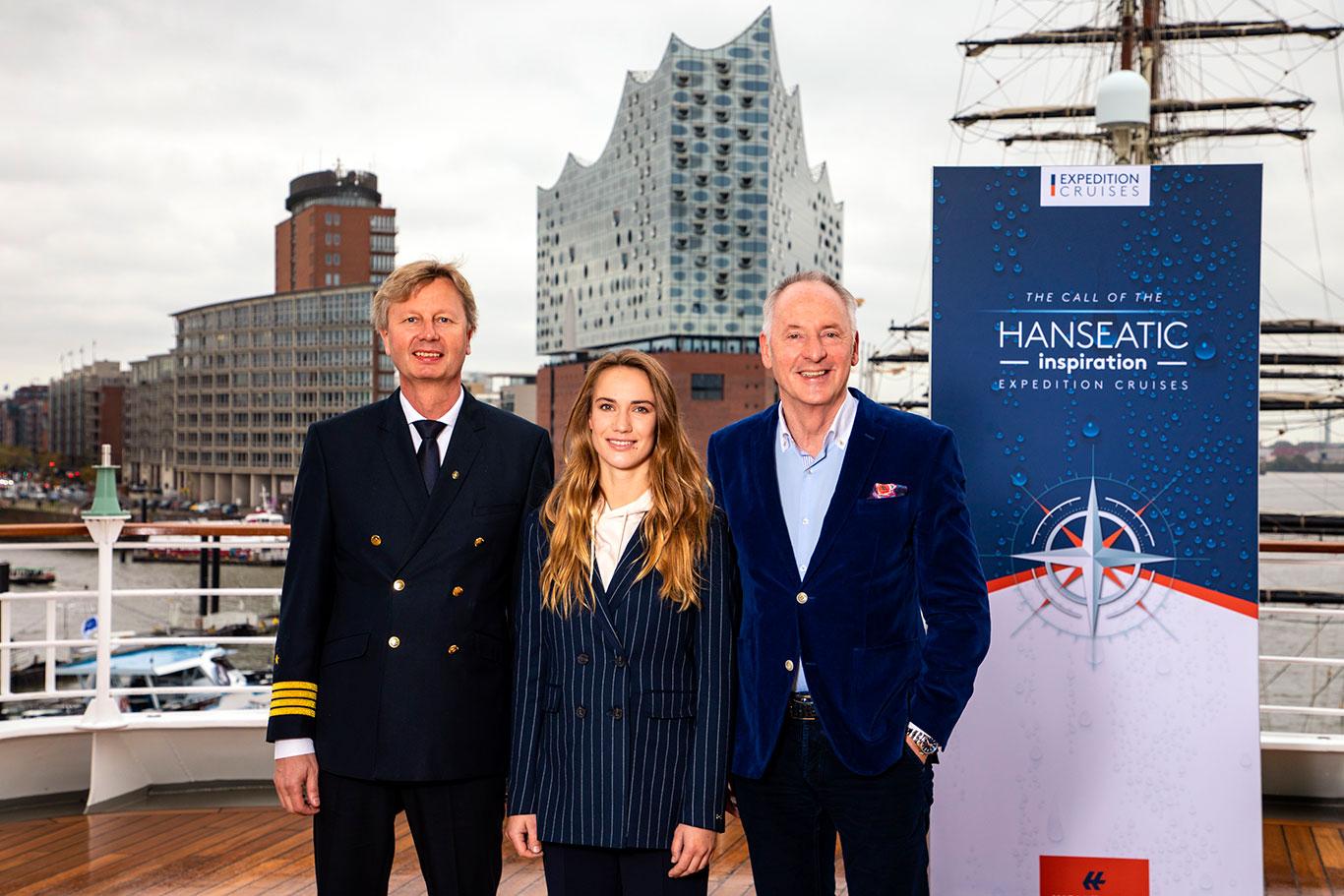 Hapag Lloyd, Hanseatic Inspiration christening