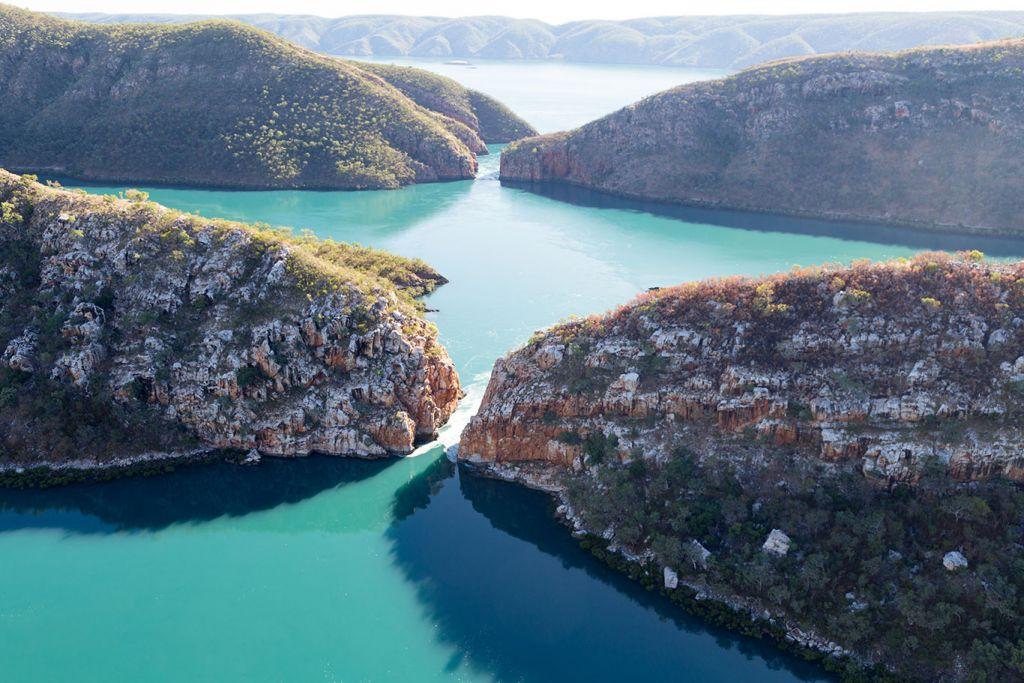 John Torode Australia cruise, Horizontal Falls