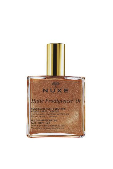 Holiday hair: Nuxe drying oil
