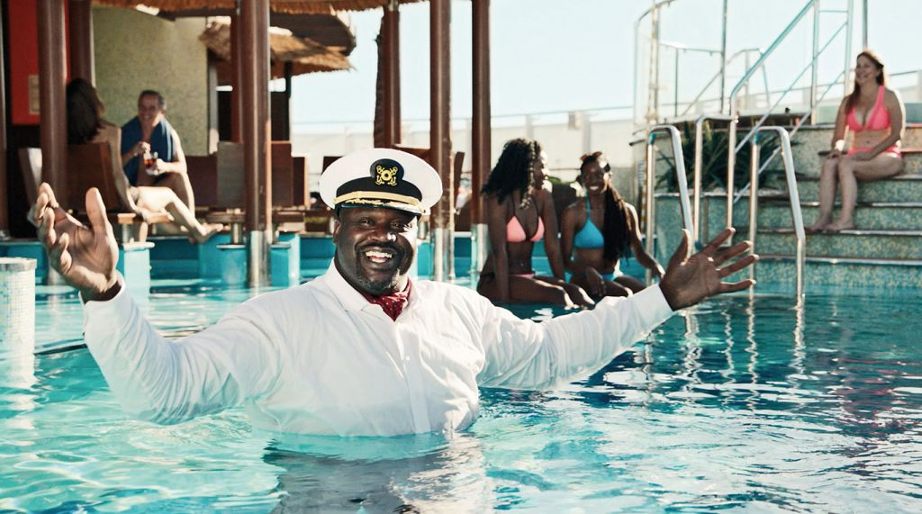 Shaquille O'Neal Carnival Cruise Line