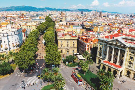 Win a cruise: Barcelona La Ramblas
