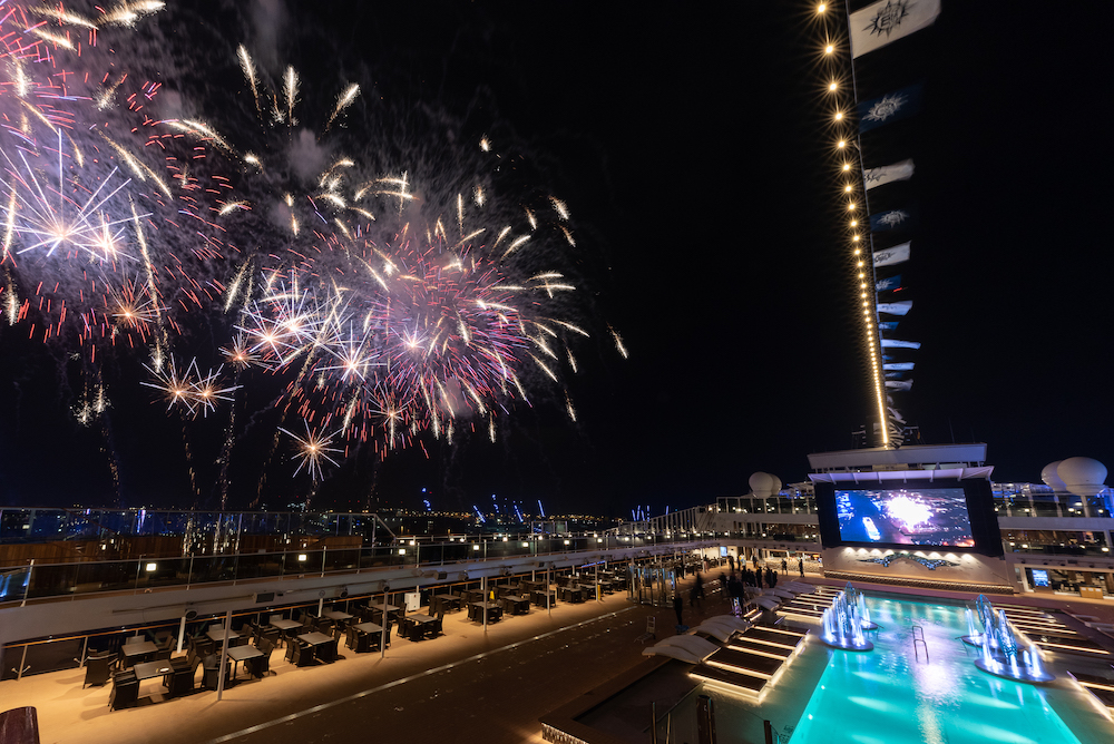MSC Cruises Grandiosa christening