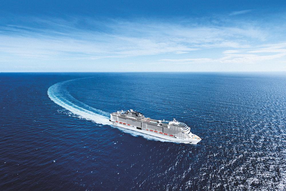 Win a cruise: MSC Grandiosa
