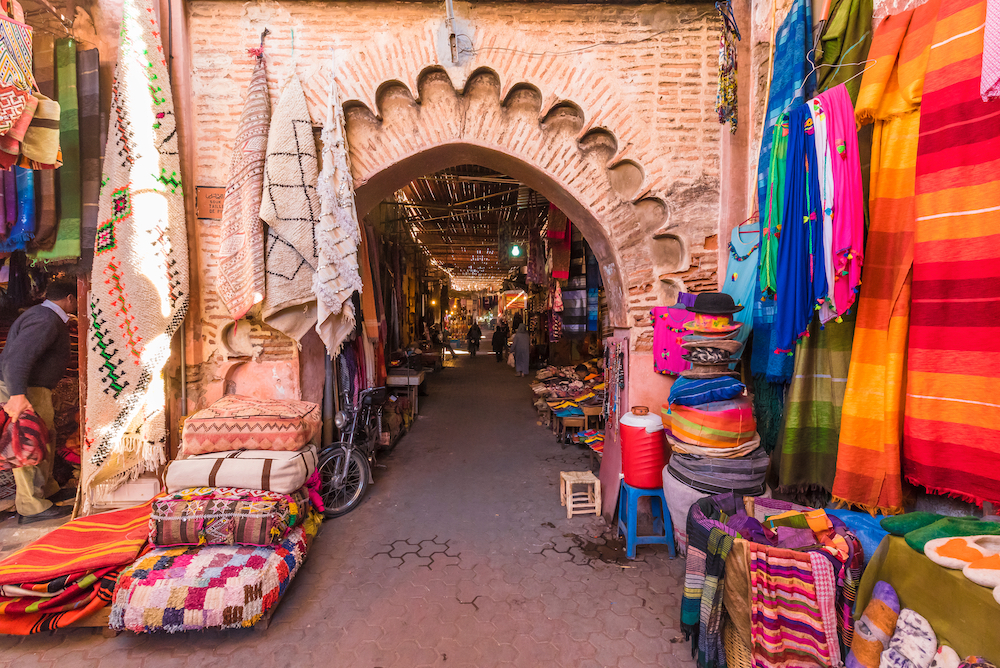Expedition cruise: Morocco market