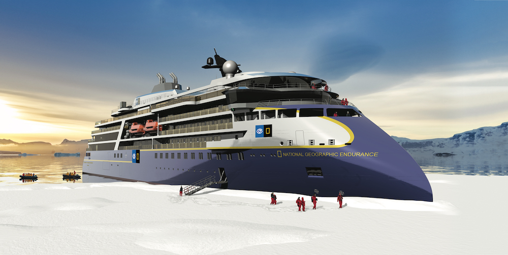 Expedition cruise ship: National Geographic Endurance