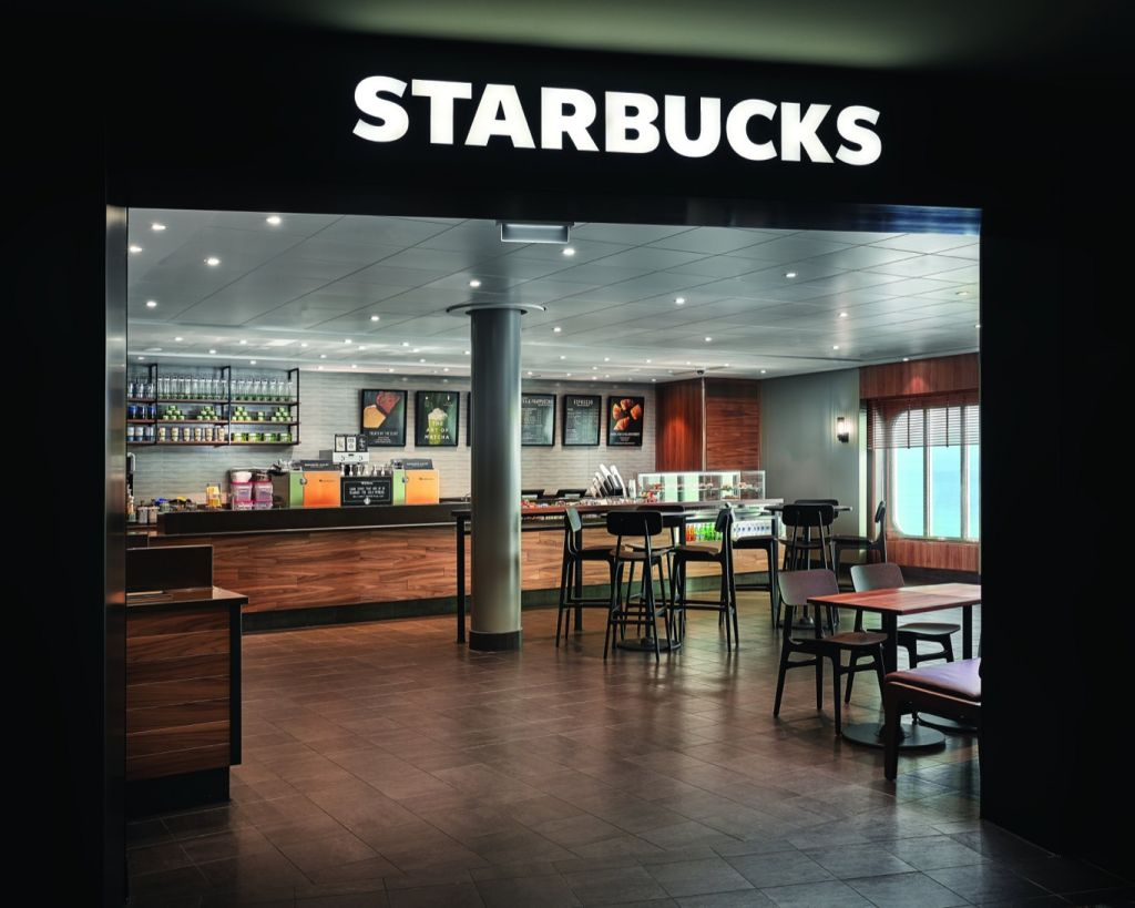 Norwegian Encore: Starbucks