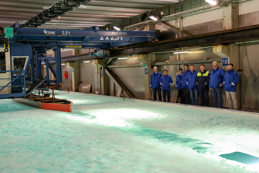 Seabourn Venture Ice Tank Test low