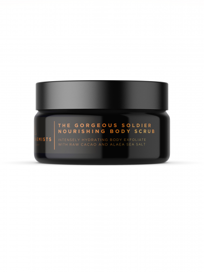 Natural skincare: Gorgeous soldier nourishing body scrub