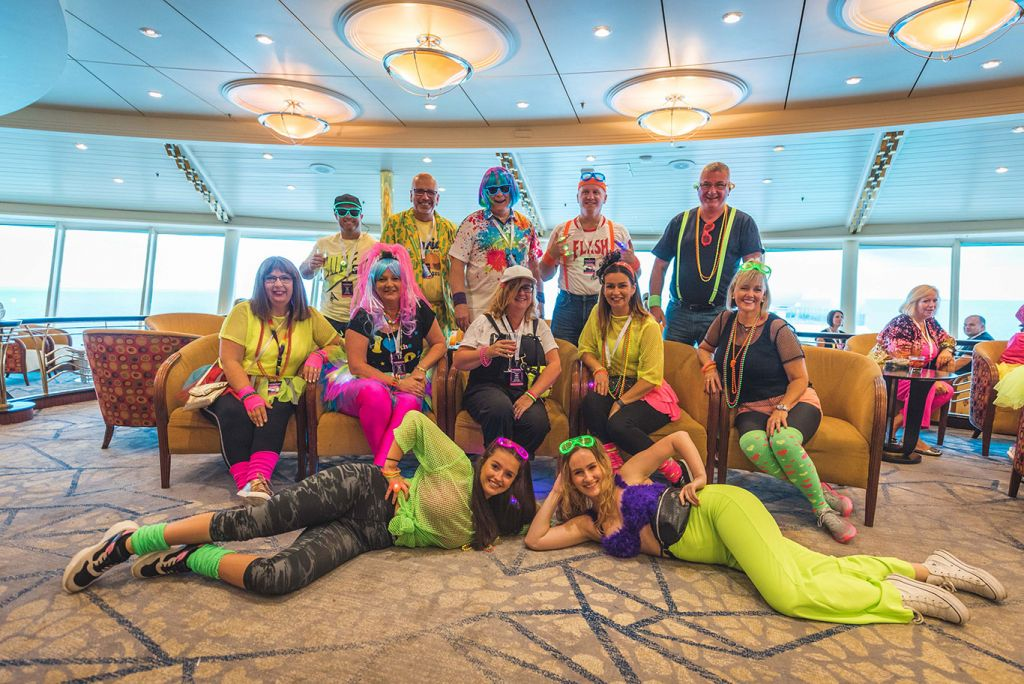 80s cruise: Royal Caribbean