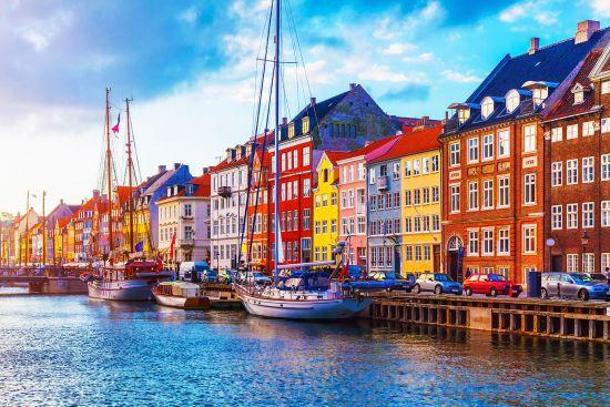 Charlie Dimmock: Princess Cruises, Copenhagen