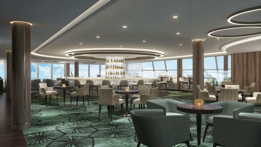 NCL Norwegian Encore: Observation Lounge