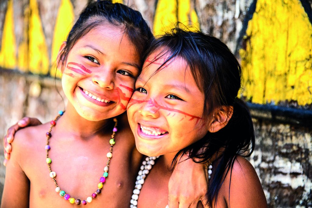 Children of South America bring welcoming smiles all round