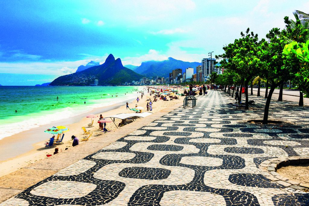 Famous beaches of Rio are worth a trip to South America
