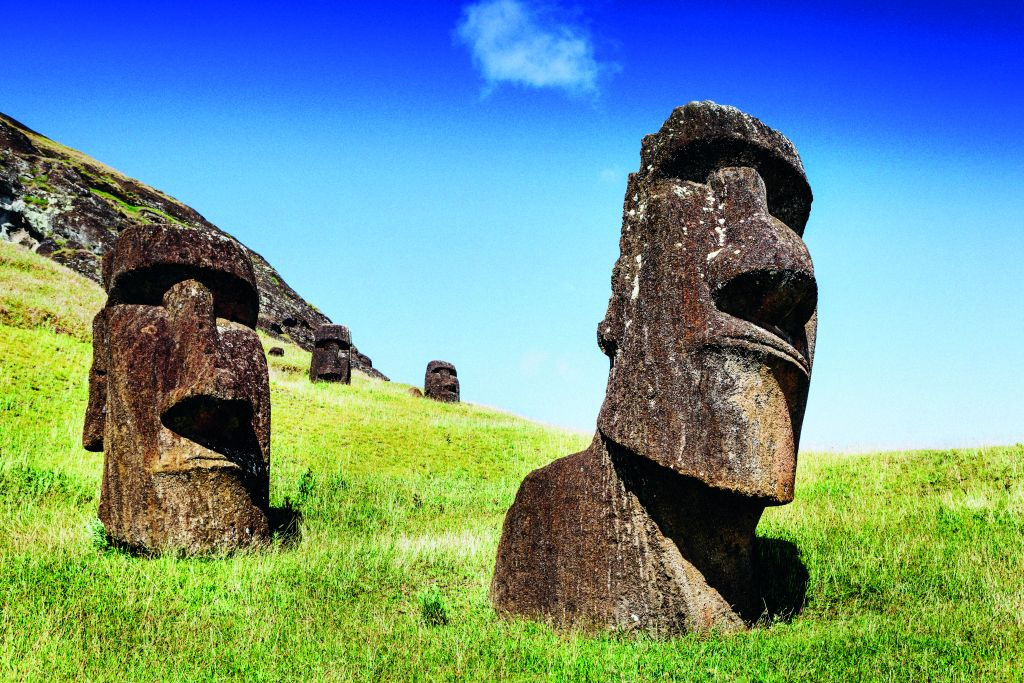 Sail round Easter Island on a South American cruise