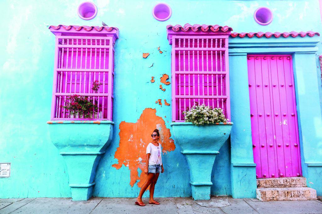 Vibrant streets complete Cartagena City