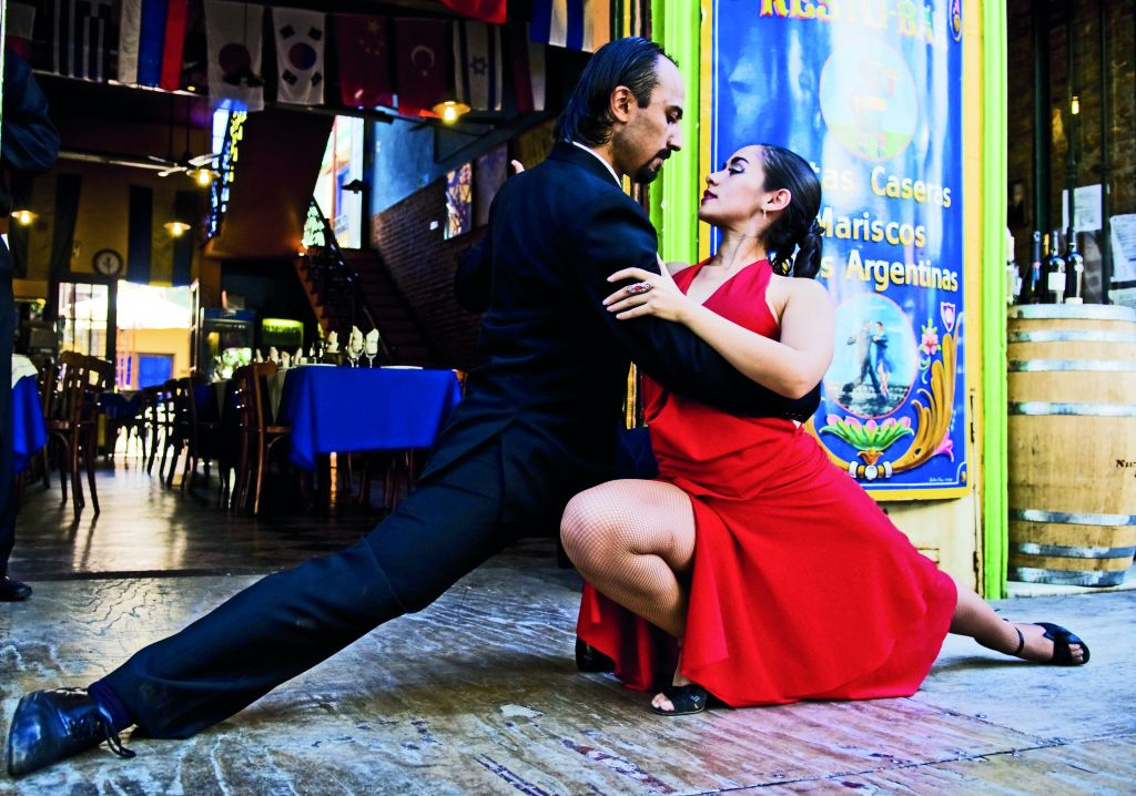 Doing the Tango in Buenos Aires