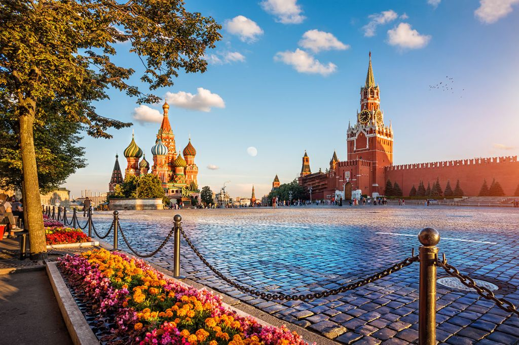 Viking River Cruises: St Basil's Cathedral, Red Square, Russia