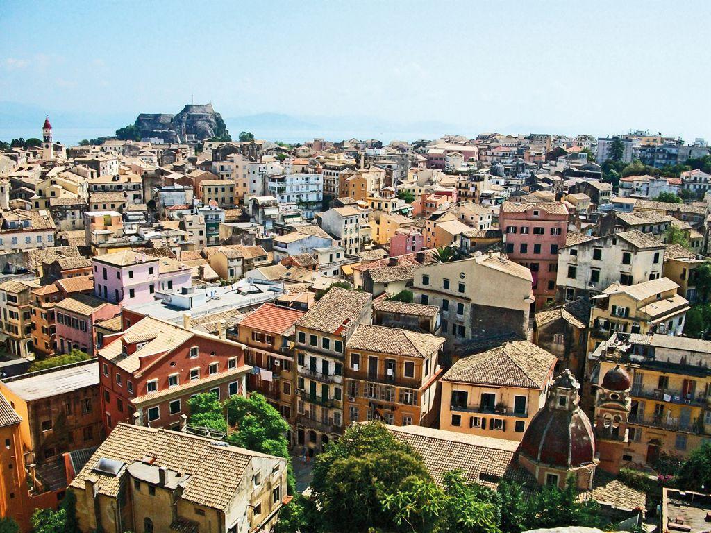 Greek islands cruise: Corfu