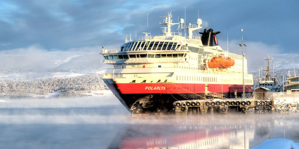 Cruising with Jane McDonald: Hurtigruten MS Polarys