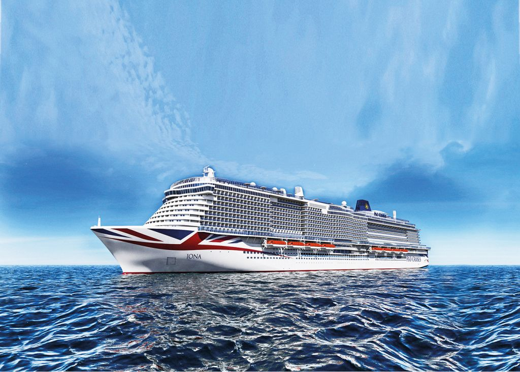 New ships, P&O cruises Iona