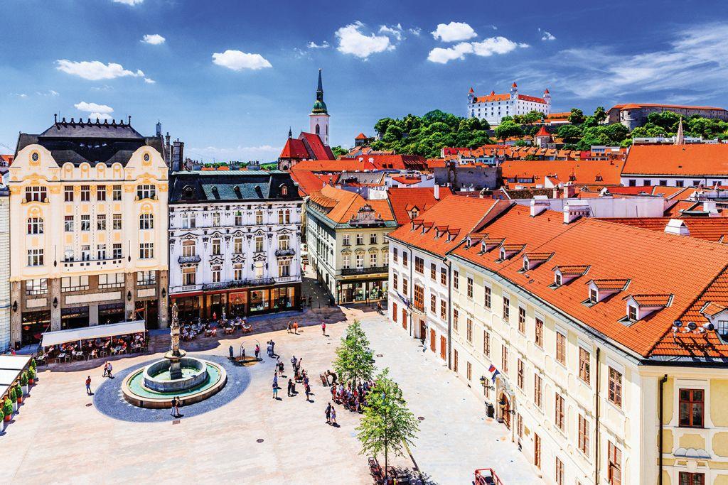 Danube river cruise: Bratislava