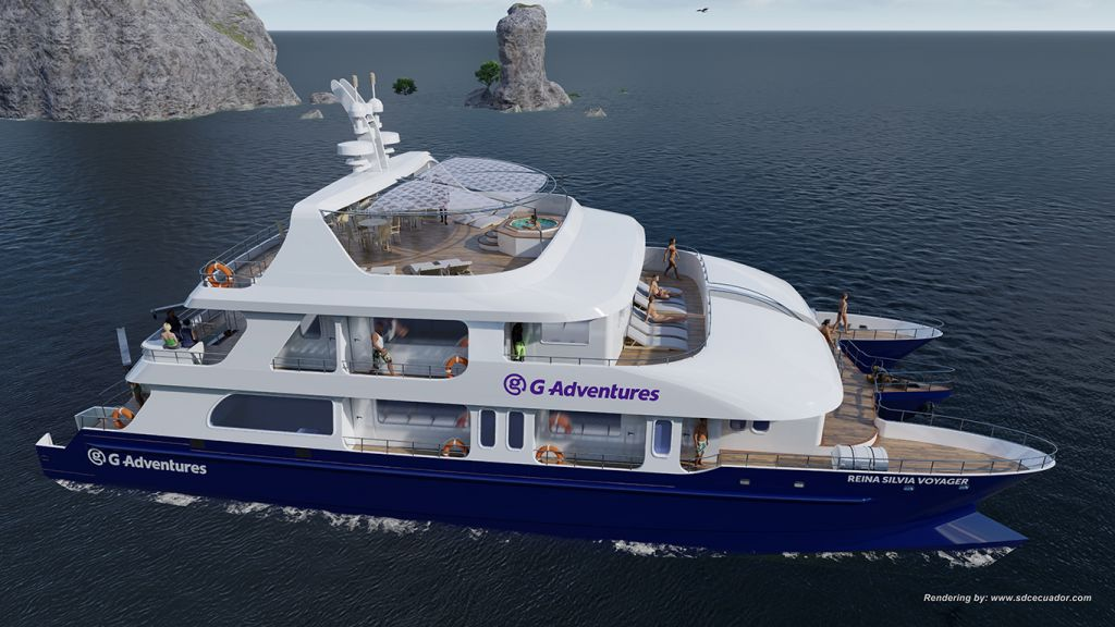 New ships, G Adventures