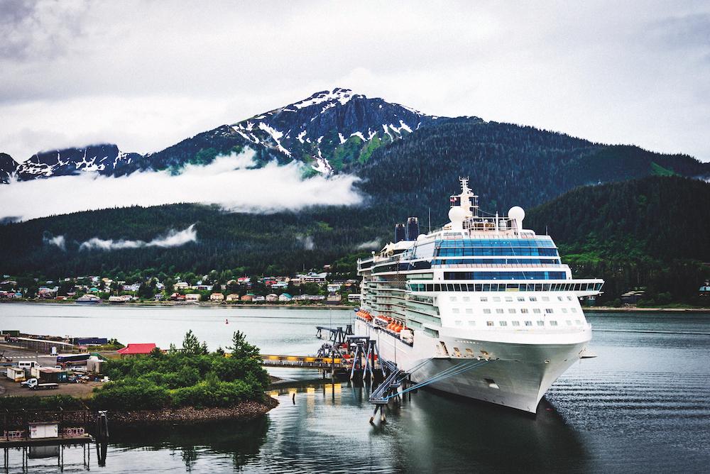 Sustainable cruises: Alaska cruise ship