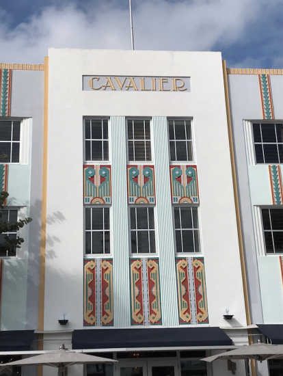 Viking Cruises: Miami art deco building