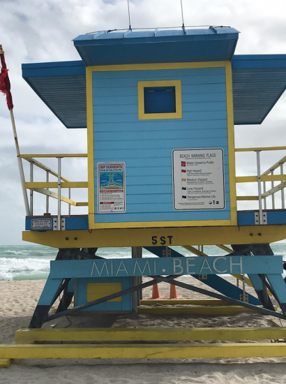 Viking Cruises: Miami beach hut