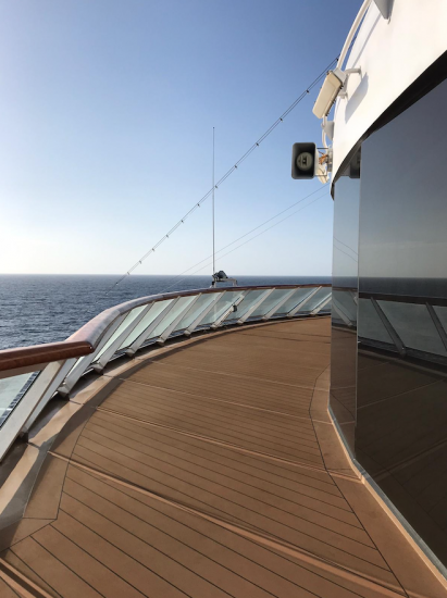 Sea views on Viking Sky