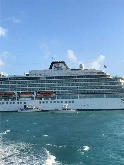 Viking Sky in Belize
