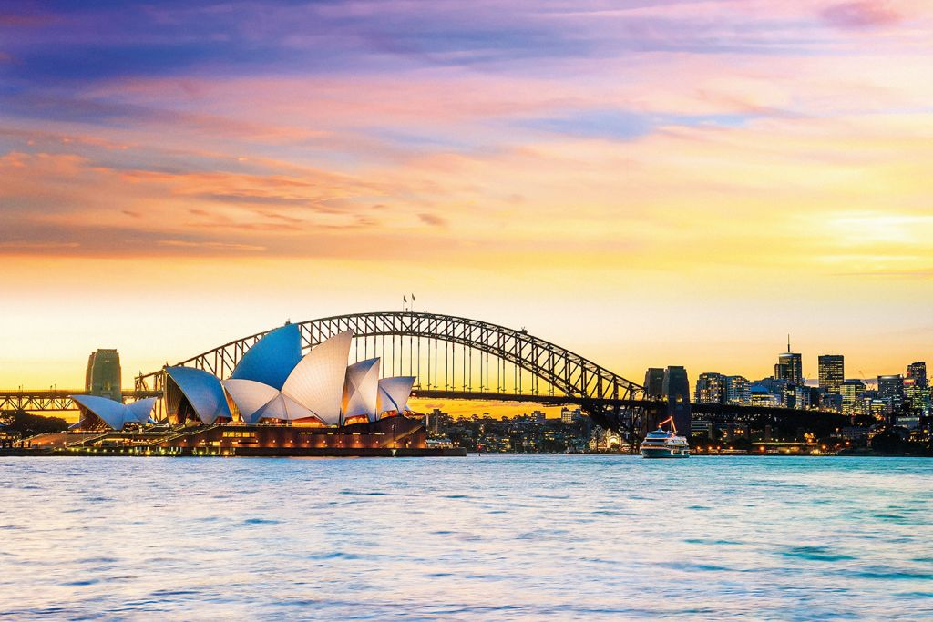 World cruises: Australia