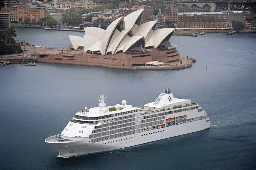 Silversea Silver Whisper on world cruise