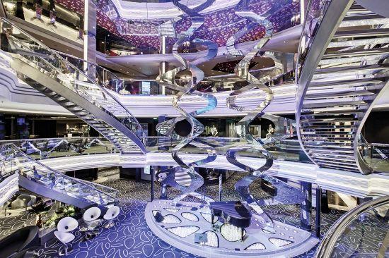 MSC Grandiosa: Grand Atrium