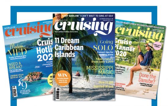 Destinations London: world of cruising magazine