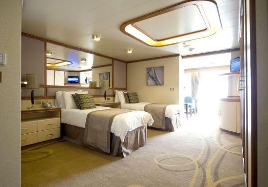 P&O Cruises Azura cabin