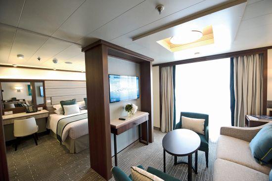 P&O Britannia, P&O Cruises: suite