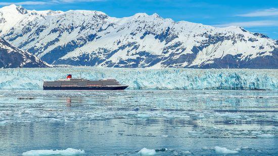 Cruises for couples: Cunard, Alaska