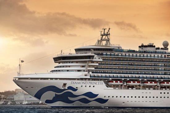Americans Taken Off Japanese Cruise Test Positive For Coronavirus