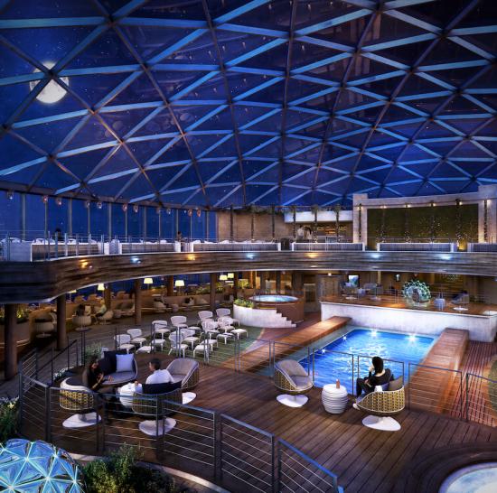 P&O Cruises Iona Sky Dome