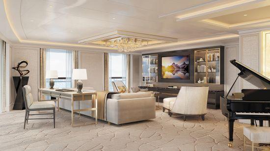 Seven Seas Splendor: Regent suite