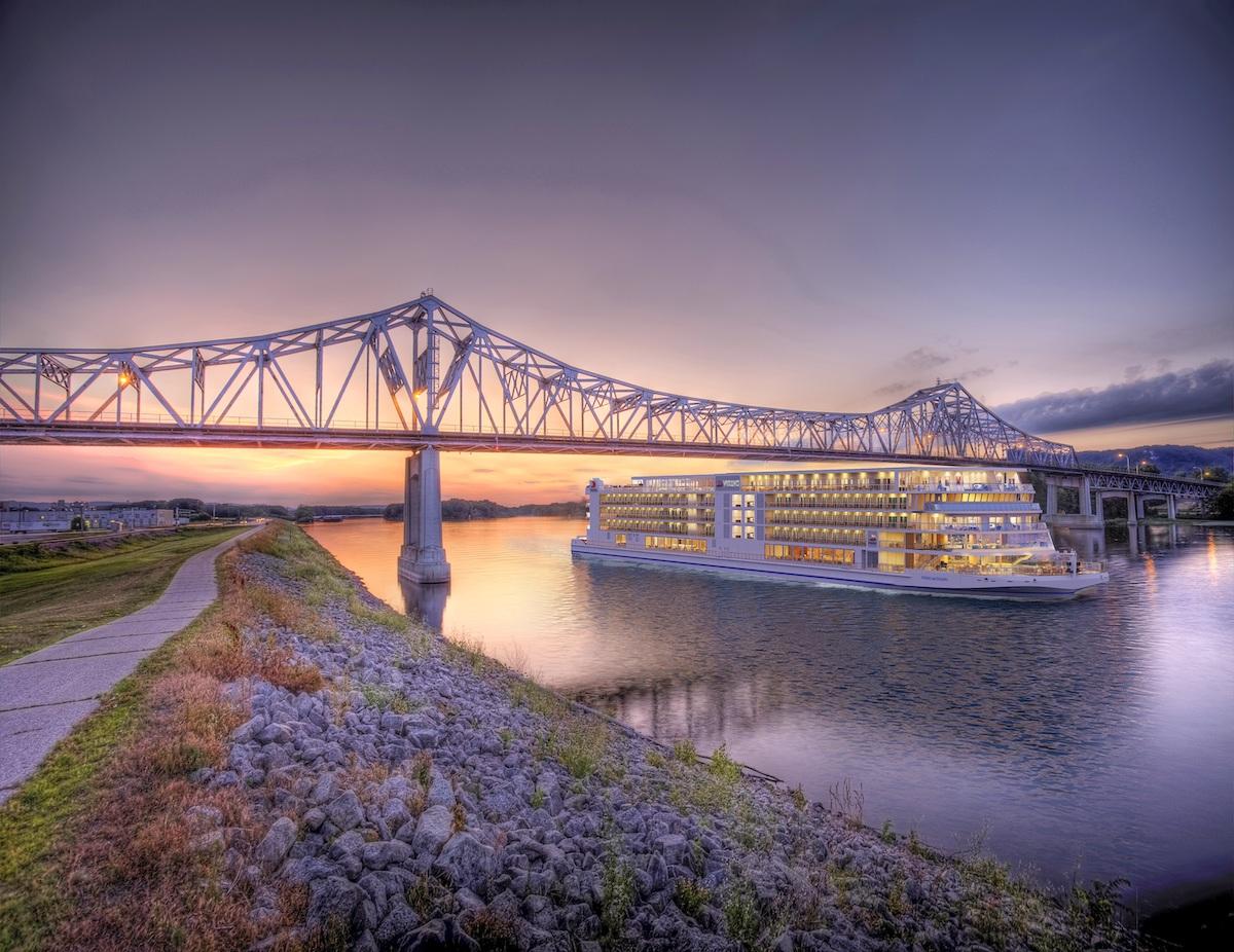 Viking Cruises Mississippi ship