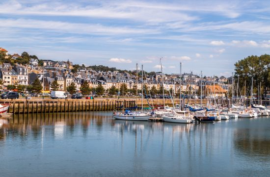 Seine river cruise: Deauville France