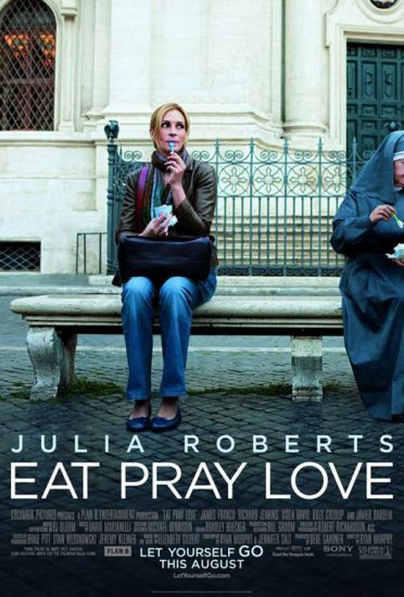 Coronavirus self-quarantine: travel films, Eat Pray Love